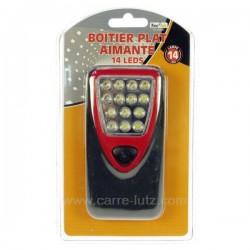 Lampe Boitier plat 14 LEDS, reference 997219