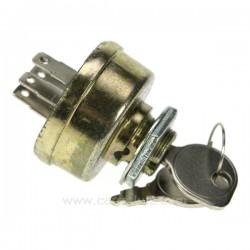 Contacteur de tondeuse à gazon  3 positions  5 bornes type magnéto  Diamètre de montage : 15.9 mm   , reference 9983049