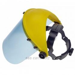 Visière palstique de protection Pièces détachées motoculture 9986201, reference carre-lutz 9986201