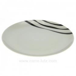 assiette dessert Luna Swing Porcelaine Bruno Evrard CL10010302, reference CL10010302