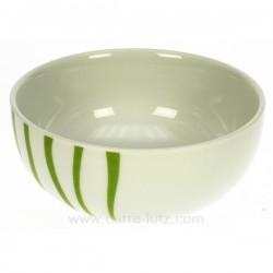 coupelle Luna Swing vert Porcelaine Bruno Evrard CL10010505, reference CL10010505