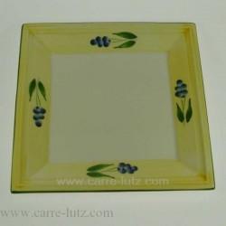 ASSIETTE CARReE 31 CM Porcelaine de table CL10020005, reference CL10020005
