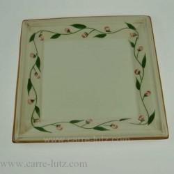 ASSIETTE CARReE 27 CM Porcelaine de table CL10020012, reference CL10020012