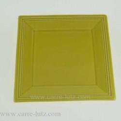 ASSIETTE CARReE 22 CM Porcelaine de table CL10020013, reference CL10020013