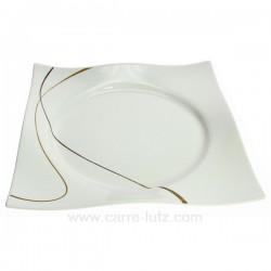 Assiette plate Scala Porcelaine Ritzenhoff et breker CL10020638, reference CL10020638