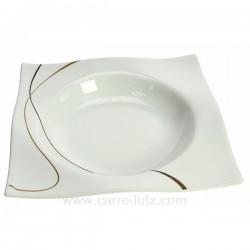 Assiette creuse Scala Porcelaine Ritzenhoff et breker CL10020640, reference CL10020640