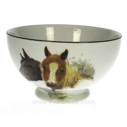 Bol chevaux Arts de la table CL10030186, reference CL10030186
