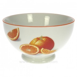 Bol orange Arts de la table CL10030189, reference CL10030189
