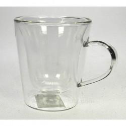 Tasse expresso par 2 en verre Arts de la table CL10030215, reference CL10030215