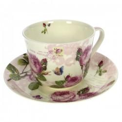 Coffret dejeuner roses romantiques Arts de la table CL10030224, reference CL10030224