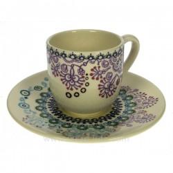 Tasse a cafe par 6 Sultana Faienceries de Gien CL10068301, reference CL10068301