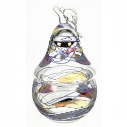 Bonbonniere Cristal de Paris poire Galleria, reference CL12001006