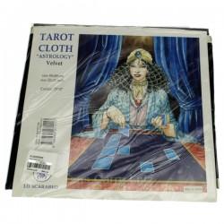 Tapis d'astrologie noir dimensions 80 x 80 cm, reference CL20002002