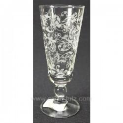 flute champagne Classique X 6 Service de verre CL20010090, reference CL20010090