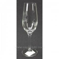 Flute a champagne Luxion par 6 Service de verre CL20010093, reference CL20010093