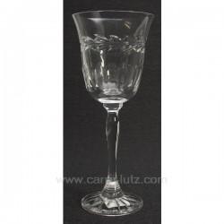 Verre a eau Darius par 6 Service de verre CL20010104, reference CL20010104