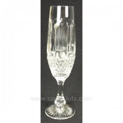 Flute a champagne Paris par 6 Service de verre CL20010118, reference CL20010118