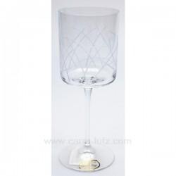 Verre a eau Pastoral par 6 Service de verre CL20010140, reference CL20010140