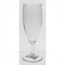 Flute a champagne Banquet par 6 Service de verre CL20011092, reference CL20011092