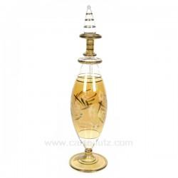 Flacon de parfum luxe en verre, reference CL21040058