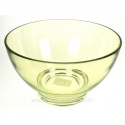 saladier acrylique vert Arts de la table CL22000014, reference CL22000014