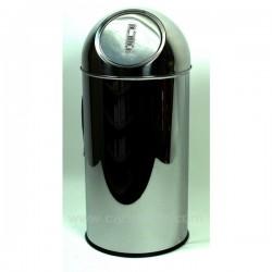 Poubelle inox 35 lt La cuisine CL23000025, reference CL23000025