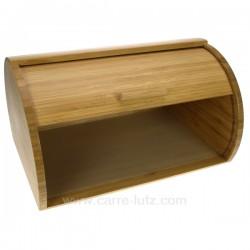 Boite a pain bambou naturel La cuisine CL23000027, reference CL23000027