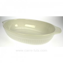 Plat ovale 34 cm BIANCO