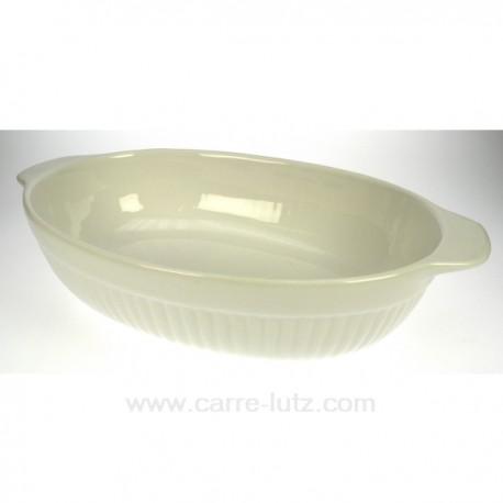 Plat ovale 34 cm BIANCO La cuisine CL25004004, reference CL25004004