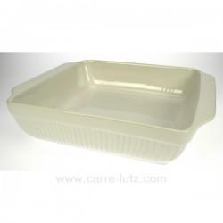 Plat carre 38 cm BIANCO La cuisine CL25004005, reference CL25004005