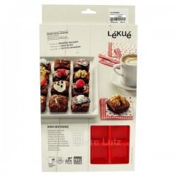 Plaque à mini brownie en silicone Lékué, reference CL27000032