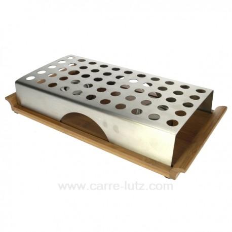 chauffe plat socle bambou ref cl28001001. Black Bedroom Furniture Sets. Home Design Ideas