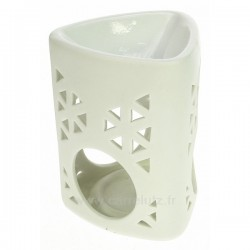 Brule parfum céramique triangle blanc Drake, reference CL30000212