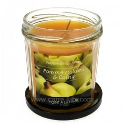 Bougie parfumée confiture de pomme et coing Point à la ligne, reference CL31000059