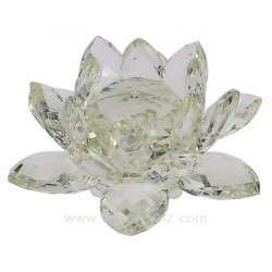 Fleur de lotus en verre diamètre 80 mm, reference CL40000042