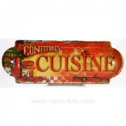 PLAQUE DE PORTE CUISINE Cadeaux - Décoration CL46300004, reference CL46300004