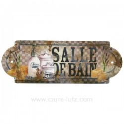 Plaque de porte salle de bain Cadeaux - Décoration CL46300011, reference CL46300011