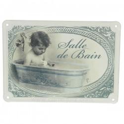 Plaque de porte SDB garcon Cadeaux - Décoration CL46300103, reference CL46300103