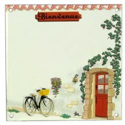 Plaque emaillee velo Cadeaux - Décoration CL46302000, reference CL46302000
