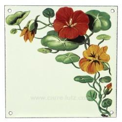 Plaque emaillee capucine Cadeaux - Décoration CL46302003, reference CL46302003