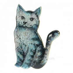 Chat emaux de limoges Emaux de Limoges CL47100062, reference CL47100062