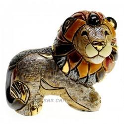 Lion en céramique platine et or - De Rosa Rinconada Collection De Rosa Rinconada CL47200034, reference CL47200034