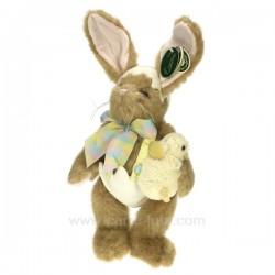 Lapin Eggs et Benedict Cadeaux - Décoration CL49001080, reference CL49001080