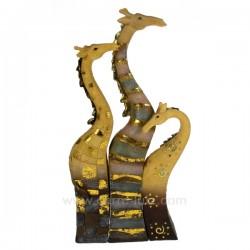 set de 3 girafes emboitables Cadeaux - Décoration CL49990016, reference CL49990016