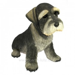 Schnauzer assis Collection Country Artists CL50011023, reference CL50011023