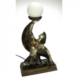 Lampe egyptienne Thème Egypte CL50030078, reference CL50030078