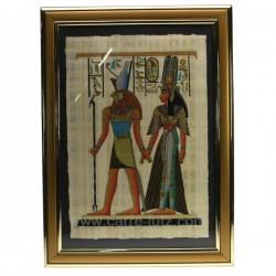 Papyrus avec encadrement PM Thème Egypte CL50031014, reference CL50031014