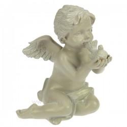 Ange assis gris colombe Cadeaux - Décoration CL50060021, reference CL50060021