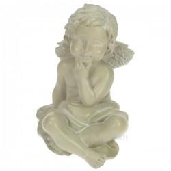 Ange assis gris penseur Cadeaux - Décoration CL50060022, reference CL50060022