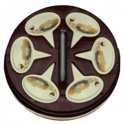 Boite 6 marques fromage Arts de la table CL50120100, reference CL50120100